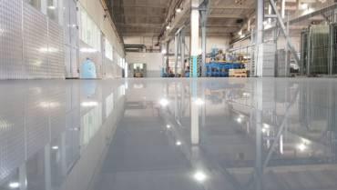 Промышленное тонкослойное наливное покрытие EPOXY